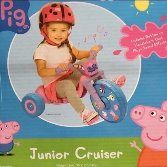 Peppa Pig Junior Cruiser Bike Boutique